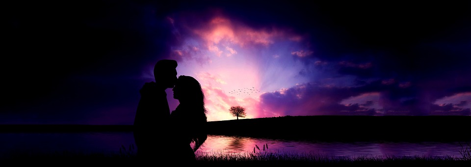 romantika, nočná obloha